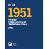 2020 NFPA 1951 Standard - Current Edition