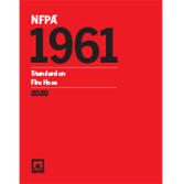 2020 NFPA 1961 Standard - Current Edition