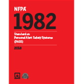 2018 NFPA 1982: Standard - Current Edition