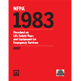 2017 NFPA 1983 Standard - Current Edition