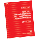 NFPA 1983: Standard on Life Safety Rope and Equipment for Emergency Services, Spanish