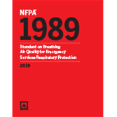 2019 NFPA 1989 Standard - Current Edition