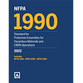 2022 NFPA 1990 Standard - Current Edition