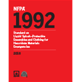 2018 NFPA 1992 Standard - Current Edition