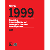 2018 NFPA 1999 Standard - Current Edition