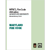 NFPA 1, Fire Code, with Maryland Amendments