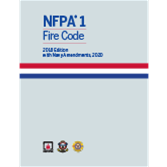 2018 NFPA 1, Fire Code with Navy Amendments - Current Edition