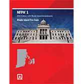 NFPA 1, Fire Code with Rhode Island Amendments
