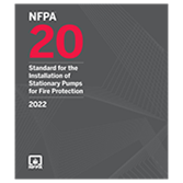 2022 NFPA 20 Standard - Current Edition