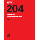 2018 NFPA 204 Standard - Current Edition