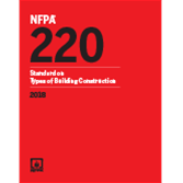 2018 NFPA 220 Standard - Current Edition
