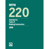 2021 NFPA 220 Standard - Current Edition