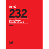 2017 NFPA 232 Standard - Current Edition