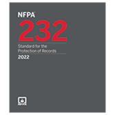 2022 NFPA 232 Standard - Current Edition