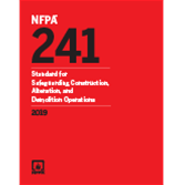 2019 NFPA 241 Standard - Current Edition