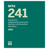2022 NFPA 241 Standard - Current Edition