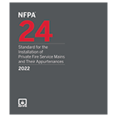 2022 NFPA 24 Standard - Current Edition