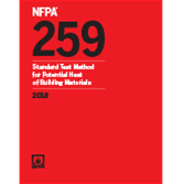 2018 NFPA 259 Standard - Current Edition
