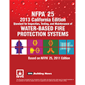 NFPA 25 with California amendments