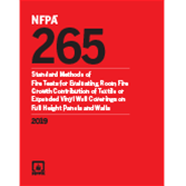 2019 NFPA 265 Standard - Current Edition