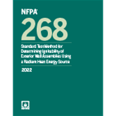 2022 NFPA 268 Standard - Current Edition