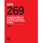 2017 NFPA 269 Standard - Current Edition