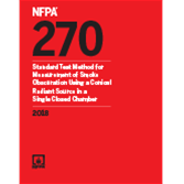 2018 NFPA 270 Standard - Current Edition