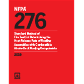 2019 NFPA 276 Standard - Current Edition