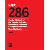 2019 NFPA 286 Standard - Current Edition