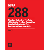 2017 NFPA 288 - Current Edition