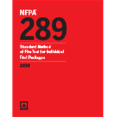 2019 NFPA 289 Standard - Current Edition