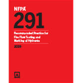 2019 NFPA 291 Recommended Practice - Current Edition