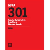 2018 NFPA 301 Code - Current Edition
