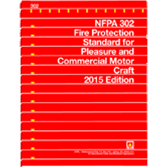 2015 NFPA 302 Standard - Current Edition