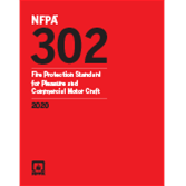 2020 NFPA 302 Standard - Current Edition