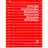 2016 NFPA 303 Standard - Current Edition