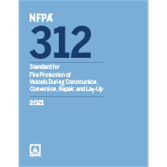 2021 NFPA 312 Standard - Current Edition