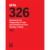 2020 NFPA 326 Standard - Current Edition