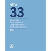 2021 NFPA 33 Standard - Current Edition