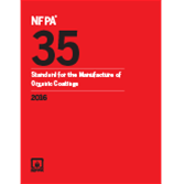2016 NFPA 35 Standard - Current Edition