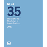 2021 NFPA 35 Standard - Current Edition