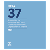 2021 NFPA 37 Standard - Current Edition