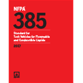 2017 NFPA 385 Code - Current Edition