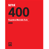2019 NFPA 400 Code - Current Edition