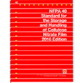 2016 NFPA 40 Standard - Current Edition