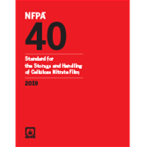 2019 NFPA 40 Standard - Current Edition