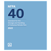 2022 NFPA 40 Standard - Current Edition