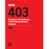 2018 NFPA 403 Standard - Current Edition