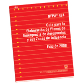 NFPA 424: Guide for Airport/Community Emergency Planning, Spanish