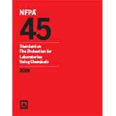 2019 NFPA 45 Standard - Current Edition